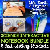 Science Interactive Notebooks Bundle - Includes all 8 of m