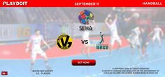 Futsal online betting SEHA international League Bet now!