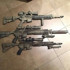DMR/SPR in my opinion, best AR set ups for the Apocalypse