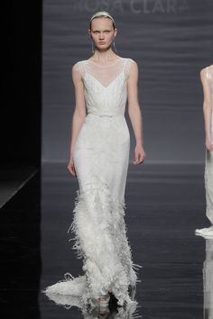 Vestidos de novia de Rosa Clará 2014 #boda #vestidos