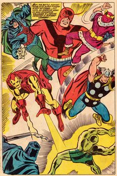 THE AVENGERS ANNUAL #2 (September 1968) Art by Don Heck & Vince Colletta Words by Roy Thomas _VIII_