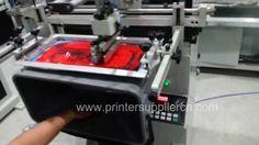 Screen printing machine for basket, Fruits Basket screen printer
