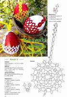 Фриволите: Плетеные корзиночки для яиц на Пасху Crochet Angel Pattern, Easter Crochet Patterns, Crochet Motif, Needle Tatting, Tatting Lace, Christmas Holidays, Christmas Ornaments, Egg Designs, Holiday Crochet