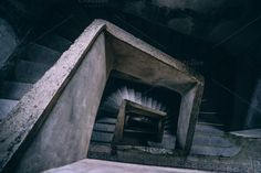 Old Stairway by Inspirationfeed on @creativemarket