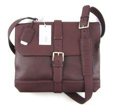 New BRIONI Benny Ox Blood Leather Messenger Crossbody Bag Briefcase Attache NWT | http://www.frieschskys.com/shop-brioni  |  #frieschskys #mensfashion #fashion #mensstyle #style #moda #menswear #dapper #stylish #MadeInItaly #designer #ootd #brioni