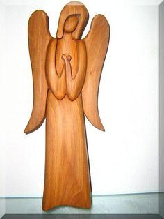 66.00 € Guardian Angel, wooden statue