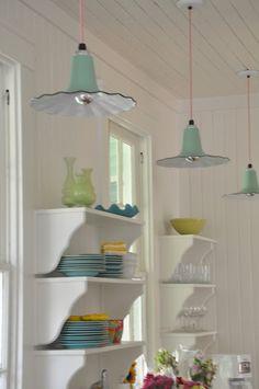 Summer Cottage Decorating Ideas - via Jane Coslick Cottages : Cottage On The Green Tybee Island Ga