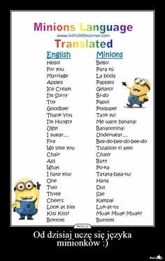 Język minionków