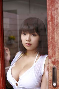 Ai Shinozaki big breasted Asian cutie in a tiny bikini. Click the picture above to view all 15 nude images.