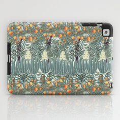 orange tree iPad Case