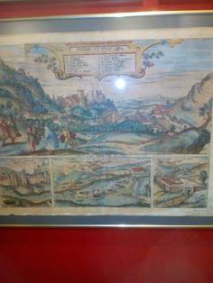La Alhambra Joris Hoefnagel 1542-1600 Grabado 1564