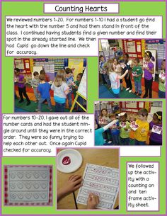 This activity can be found in my Little Mouse's Big Valentine Unit on TPT This math activity can be found in my We LOVE Math! Play Based Learning, Learning Through Play, Early Learning, Kids Learning, Preschool Math, Math Activities, Kindergarten, Maths, Learning Stories Examples