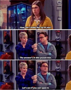 the big bang theory, best scene from this episode! Big Bang Theory Show, Big Bang Theory Quotes, The Big Theory, Big Bang Theory Funny, Tv Quotes, Funny Quotes, Funny Memes, Memes Humor, Hilarious
