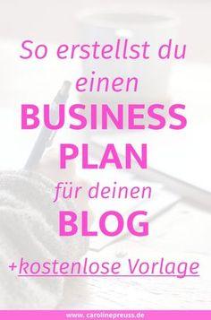 So erstellst du einen Business Plan für Blogger - Kostenlose Vorlage!  Brauche ich als Blogger überhaupt einen Businessplan? Wenn du planst, deinen Blog in der Zukuft zum Beruf zu machen, dann solltest du dir über deinen Businessplan früh Gedanken machen. Aber auch als Hobby-Blogger kann dir der Businessplan dabei helfen, deine eigenen Blog-Ziele besser zu verfolgen.