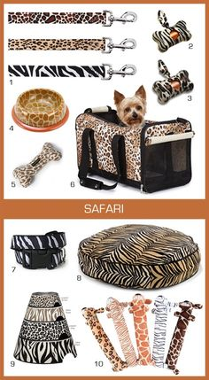 awesome+animal+print | Amazing animal print dog products!
