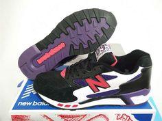 New Balance 660 Women's Black Purple Running Shoes