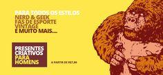 Hoje tem a wishlist da loja Gorila Clube, em formato diferente. Vem ver!!  http://blogdajeu.com.br/wishlist-goril…-esse-vai-para  #gorilaclube #presente #almofadas #estojos #necessaire #presentescriativos #presentes #wishlist #wishlistgorilaclube #presentesdivertidos