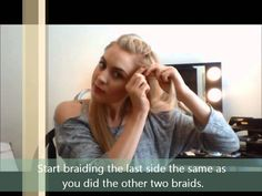 How to do a braided ponytail by Gabie Vossler #ponytail  #hairstyles #hair