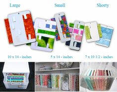 Organizing your fabric stash is easy! Fold, Wrap and Store Sewing Room Storage, Sewing Room Organization, Sewing Rooms, Fabric Storage, Craft Storage, Organizing Crafts, Storage Ideas, Craft Room Design, Organize Fabric