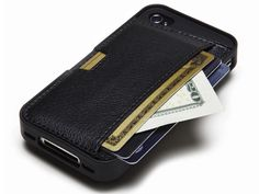 GM4 Q Card iPhone 4 Case  Holds not only my phone but cash and card love it and want it