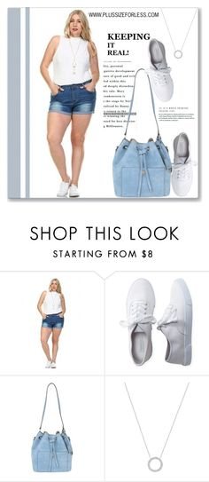 """""""PLUSSIZEFORLESS.COM"""" by amra-mak ❤ liked on Polyvore featuring Aéropostale, Michael Kors and plussizeforless"""