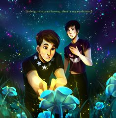 Danisnotonfire and AmazingPhil - Undertale #game #flower