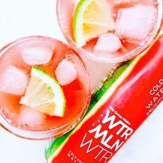 Sip it. Spike it. Share it.   WTRMLN WTR + SPRKLING LME WTR + VODKA = WTRMLN LMEADE rp @_kruti