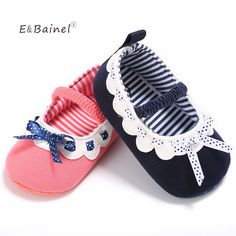 First Walkers New Baby Shoes Sweet Dot Butterfly Bow Shoes Girls Baby Prewalker Easy And Simple To Handle Mother & Kids