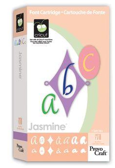 ScrapbookPal.com - Cricut Cartridge - Jasmine, $26.99 (http://www.scrapbookpal.com/cricut-cartridge-jasmine/)