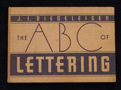 Sign & Lettering Books -The ABC of LETTERING by Rodney @ Red Rocket Signs, via Flickr