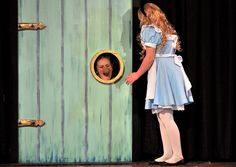 McGee Middle School production of Alice in Wonderland Jr. | Alice and the Doorknob