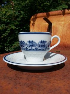 Retro 60s Mosa Maastricht tea cup and saucer.. by fcollectables, €7.00
