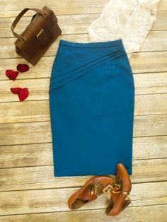 A brand new sewing pattern! Camellia Pencil Skirt | Supply | Patterns | Kollabora