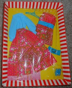 Mod Barbie Mood Matchers 1792 | eBay Mod Fashion, Vintage Fashion, Fashion Dolls, Vintage Style, Barbie Dress, Barbie Clothes, Vintage Barbie, Childhood Memories, Old Things