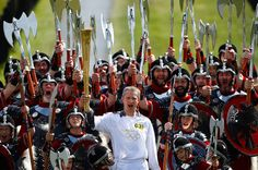 In Focus - The 2012 Olympic Flame: Halfway to London - The Atlantic