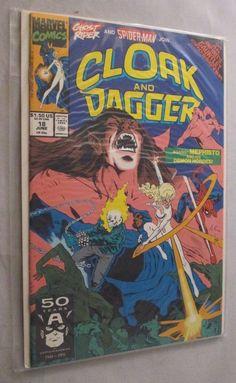 Cloak & Dagger #18 (1991) - #Marvel #Comic