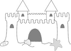 sand buckets coloring pages Sand Castle Craft, Castle Crafts, Ocean Themes, Beach Themes, Castle Vector, Building Sand, Beach Drawing, Château Fort, Beach Images