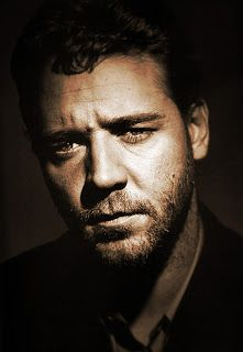♂ Man portrait face of Russell Crowe