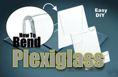 DIY How to Easily Bend Plexiglass. Plexiglass is a great material for many craft projects. See just how easy it is to bend plexiglass. Great for making display stands and brackets. Check us out on the web http://www.diyeasycrafts.com/
