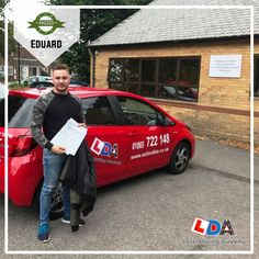 """A big congratulation to Eduard for passing his driving test at Local Driving Academy, Oxford! Please remember always, """"Safety brings first aid to the uninjured. Driving Academy, Driving Test, Safety, Oxford, Bring It On, News, Big, Security Guard, Oxfords"""