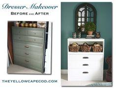 The Yellow Cape Cod: DIY Dresser Makeover