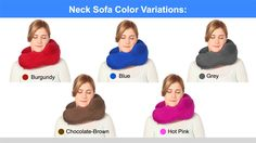 Did you know we have a color for every personality. Support, comfort and wellness. necksofa.com