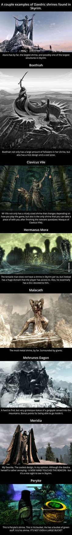 Why Peryite is the Worst Daedric Prince in Skyrim: Shrine Analysis - 9GAG