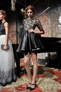 Alice + Olivia Runway   Fashion Week Fall 2013 Photos