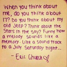 Eric Church❤