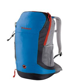 "Creon Zip - #Hiking #Backpack - #Mammut  The Creon Zip is a modern and stylish hiking and daypack. The circular zip allows direct access to the main compartment, while the air space suspension system, allowing excellent ventilation from all four sides, and the unique ""chimney effect"" help to prevent annoying perspiration."