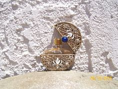 Irice Vintage Miniature Perfume Bottle & Casket  SALE by Whiscraft