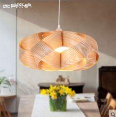 veneer pendant lamp i love it