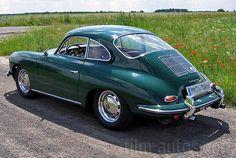 Oldtimer Porsche 356 SC zum Mieten