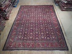 Handmade 10x13 Semi-Antique Persian Herati Mina Khani Reputation Rug